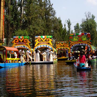 Xochimilco royale dmc for Jardin xochimilco